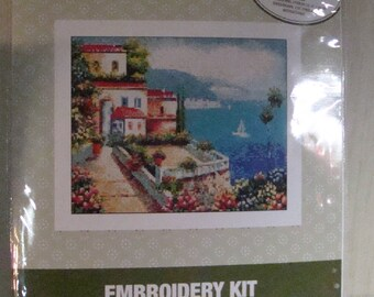 Landscape Cross Stitch Kit