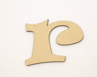 20cm MDF Wood Wooden Letters 3mm Thick RAVL