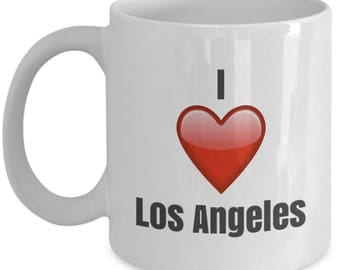 I Love Los Angeles unique ceramic coffee mug Gifts Idea