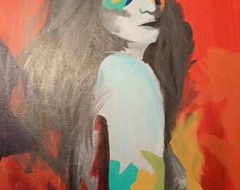 """Painting """"Phoenix"""""""