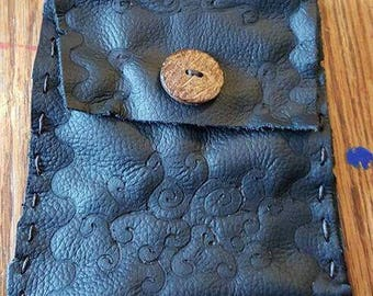 Handmade Leather Renaissance Pouch