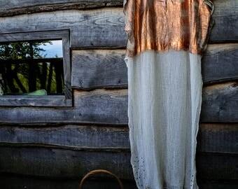 Tunic long copper