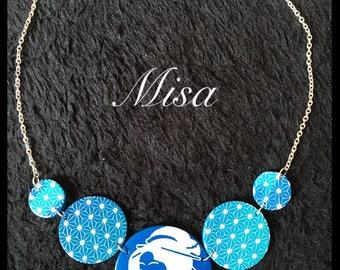 blue collar (fimo) Japanese