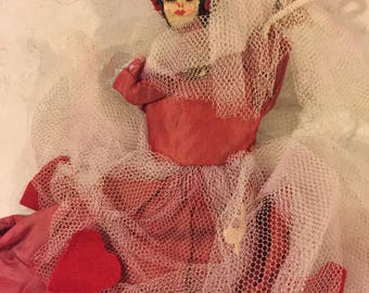 Antique Pipe Cleaner Doll