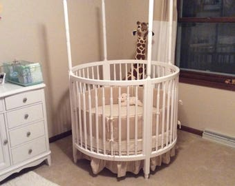 Circular Crib Bedding