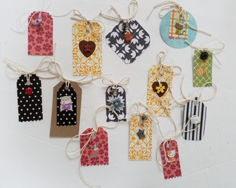 Small Colorful Gift tags