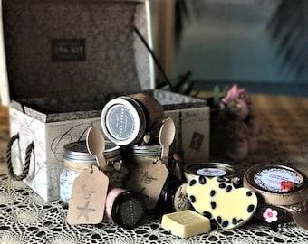 Homemade Organic Spa Kit
