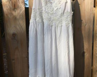 Vintage Top-shop dress long line top