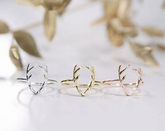 Deer Ring - Gold / Rose Gold / Silver