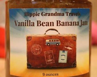 Vanilla Bean Banana Jam