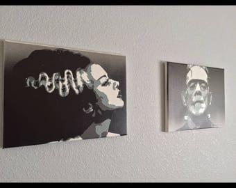 Frankenstein and the Bride of Frankenstein