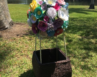Colorful Hot Air Balloon for Photo shoots, birthdays or decorating