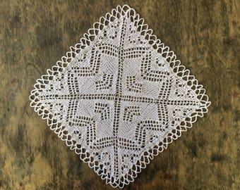Square Cotton Doily 30x30 cm