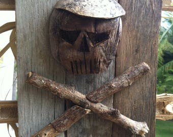 Skull pirate partisan
