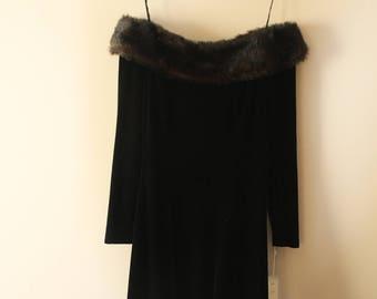Elegant furr Dress