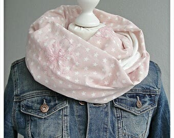 Loop, Snood, pastel, hand fitted
