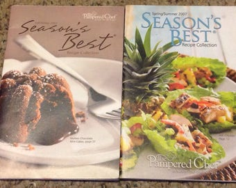 Pampered Chef, Season's Best Recipe Collection, Spring/Summer,  Fall/ Winter 2007