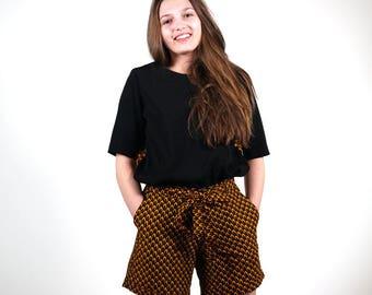 Woman high waist short Adela wax