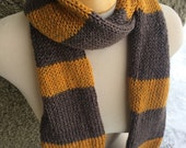 Fantastic Beasts Newt Scamander Hufflepuff Inspired Scarf