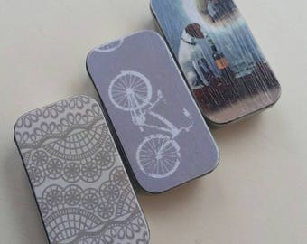 Trio of mini keepers. . . Jack & Wine lace bike