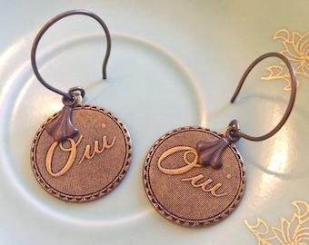 Oui! Earrings