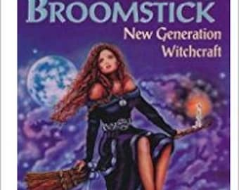 BOOK To Ride a Silver Broomstick by Silver RavenWolf SC 1994 1st Edition 3rd Printing