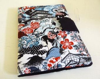 iPad Mini Cover | Case, Soft Book Style Japanese Anime Manga Fabric