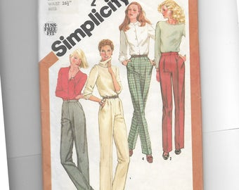 Simplicity Misses' Pants With Leg Variations Pattern 5205