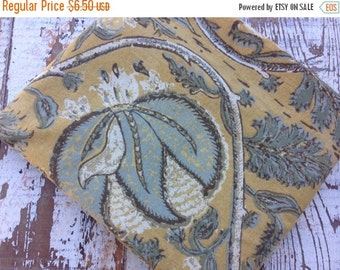 SALE- Old World Fabric-Reclaimed Bed Linens-Pottery Barn-Florals