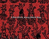 NEW! A Red Witch, Every Which Way - 2016 full-length POETRY BOOK collaboration by Juliet Cook and j/j hastain - 100+ pages - HystericalBooks