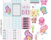 Weekly Mermaid Printable for MAMBI Happy Planner