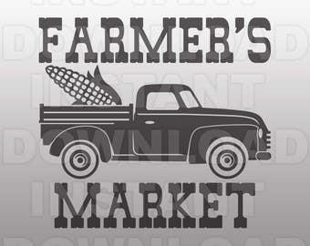 Farmers Market Svg Etsy