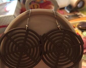 Stove burner Earrings