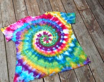 4X tie dye shirt plus size tie dye womens tie dye shirt vneck tshirt