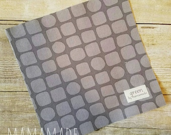 SALE! Ready to Ship - Grey Stones - Reusable Sandwich Bag | Snack Bag | Waterproof | Travel Bag from green by mamamade
