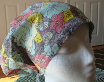 Springtime Hattie Style..............Surgical Hat....Bakers Hat