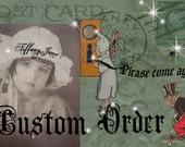 Custom order for Tonya:  Mscraftyt