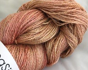 ROSE GOLD SeaSilk Lace Yarn