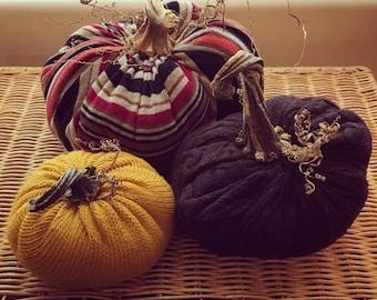 Delicious Autumn ~ Thanksgiving Sweater Pumpkins