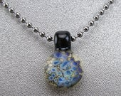 ON SALE Handmade Lampwork Glass Focal Mini Frit Pendant by Jason Powers SRA