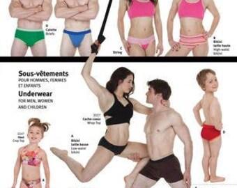 Jalie PATTERN - Underwear For Everyone - Men, Women, Kids