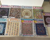 Quilters Newsletter Magazine 2005 - 9 Issues