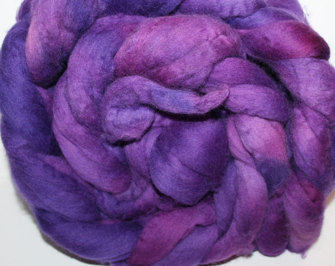 Kette Dyed Polwarth wool top. Roving. Spin. Felt. Super Soft. 1lb. FREE SHIP #P47