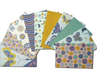 Butterfly Cardstock, 4x6 Card Fronts, 4x6 Cardstock, Butterfly Pocket Page Cards, 4x6 Cardstock, Patterned Paper, Flower Paper, Bee Paper