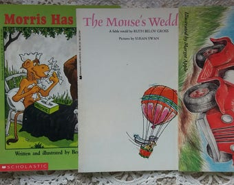 Four Vintage Childrens books