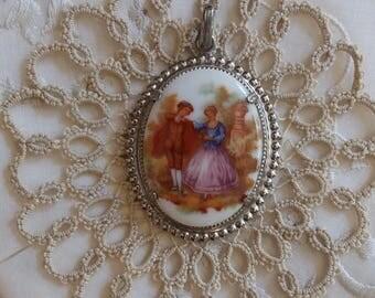 Vintage Necklace Pendant