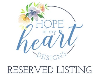 Reserved listing for Kailey