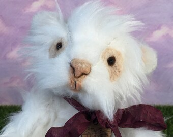 Squeek, a hand sewn guinea pig