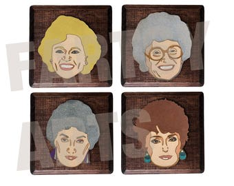 Golden Girls Laser Cut Artwork - Customizable