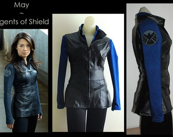 Custom Agent May SHIELD Costume